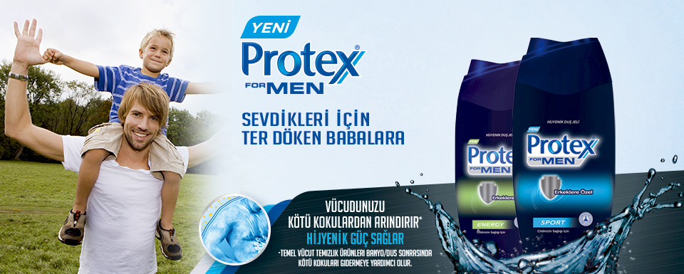 Protex For Men Duş Jeli